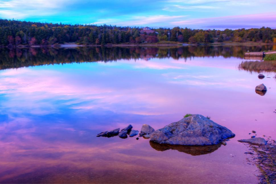 Download Free Stock HD Photo of Autumn Lake Online