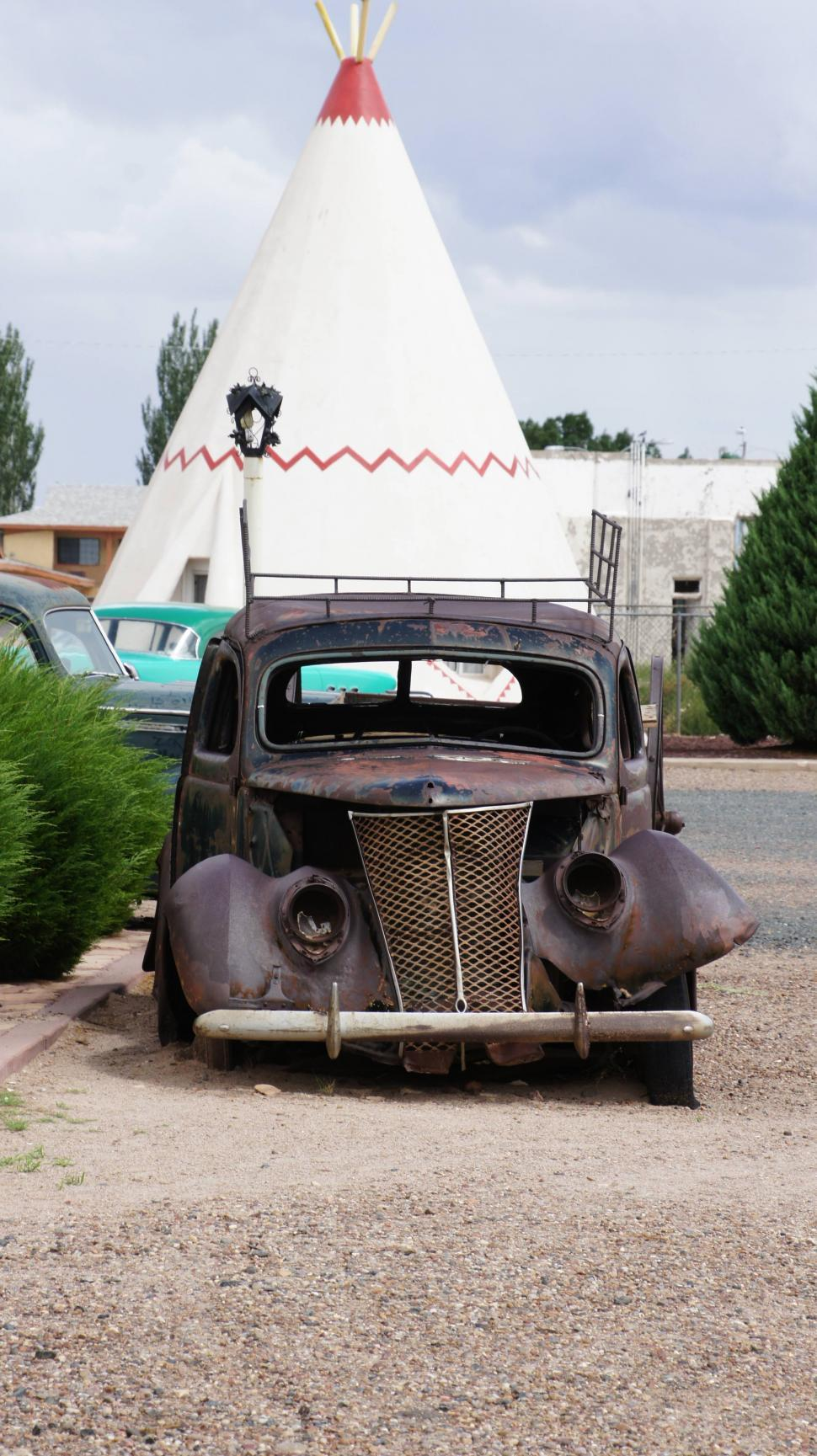 Get Free Stock Photos of Teepees and Cars on Route 66 Online ...