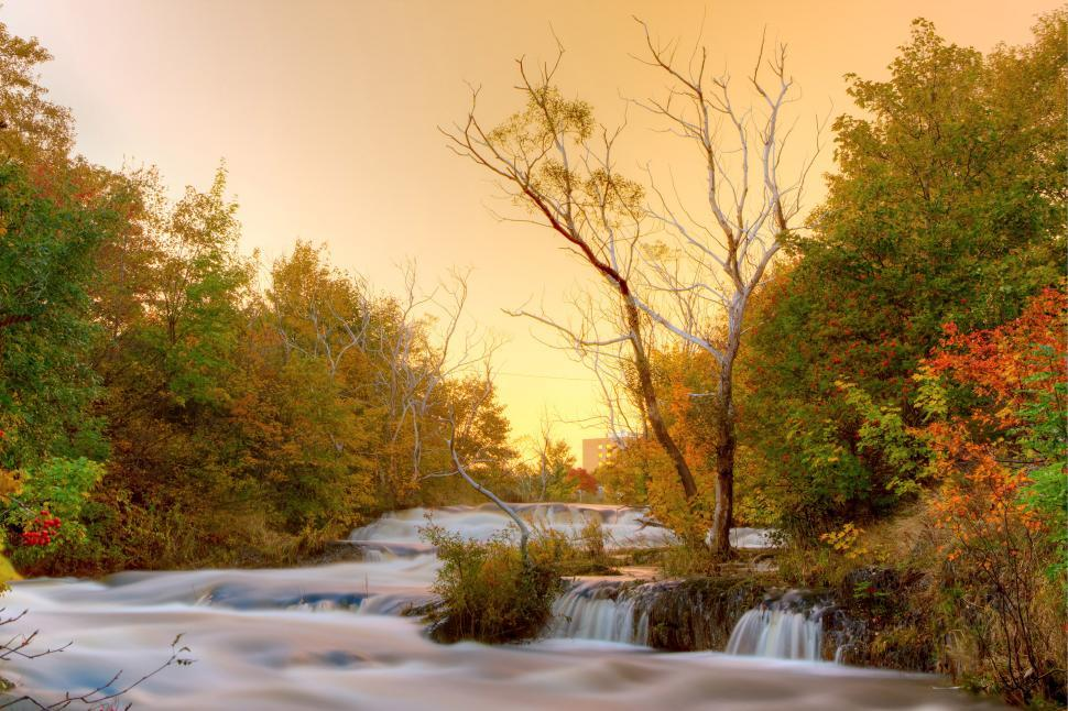 Download Free Stock HD Photo of Autumn River Online