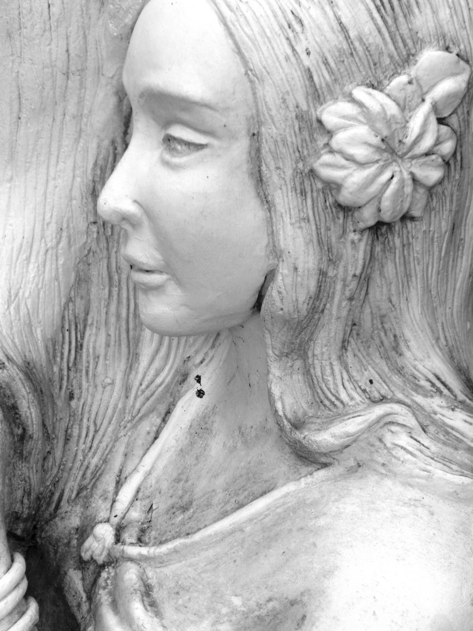 Download Free Stock HD Photo of Oriental Statue of Women Online
