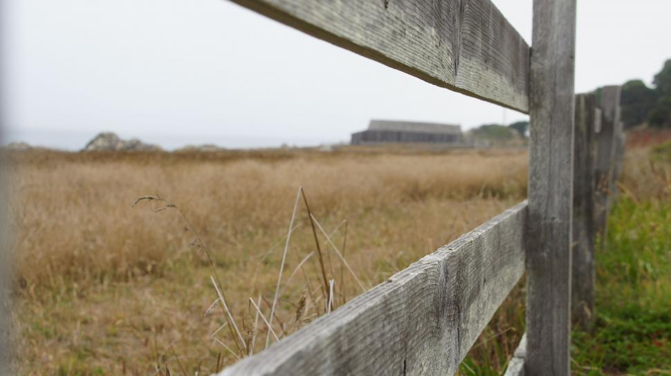 Download Free Stock HD Photo of Fence in the Fog Online