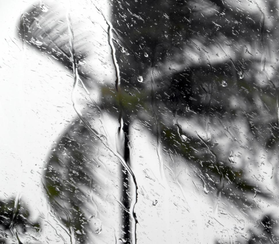 Download Free Stock HD Photo of Tropical Storm Window Raindrops Online