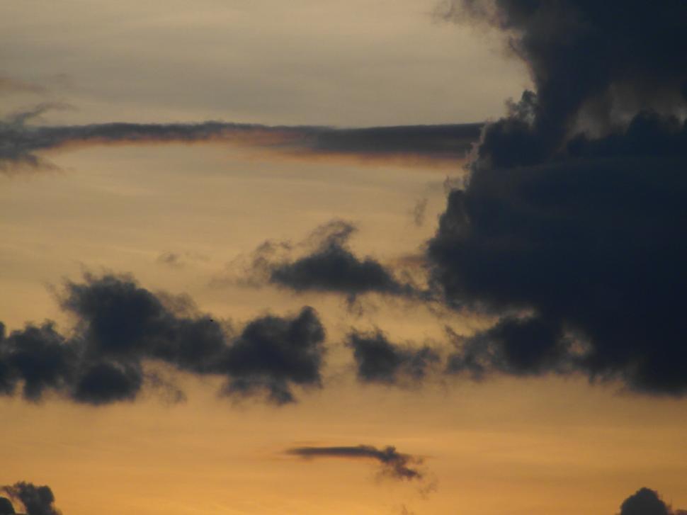 Download Free Stock HD Photo of Orange Sky Background Online