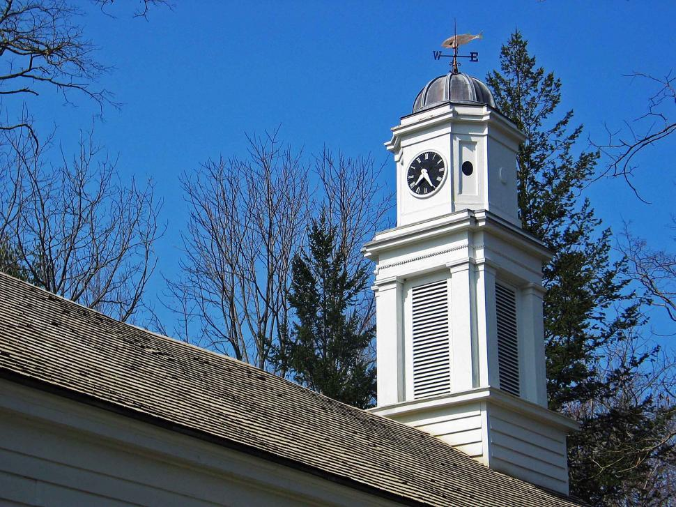Download Free Stock HD Photo of Old Church in Allaire Village, NJ Online