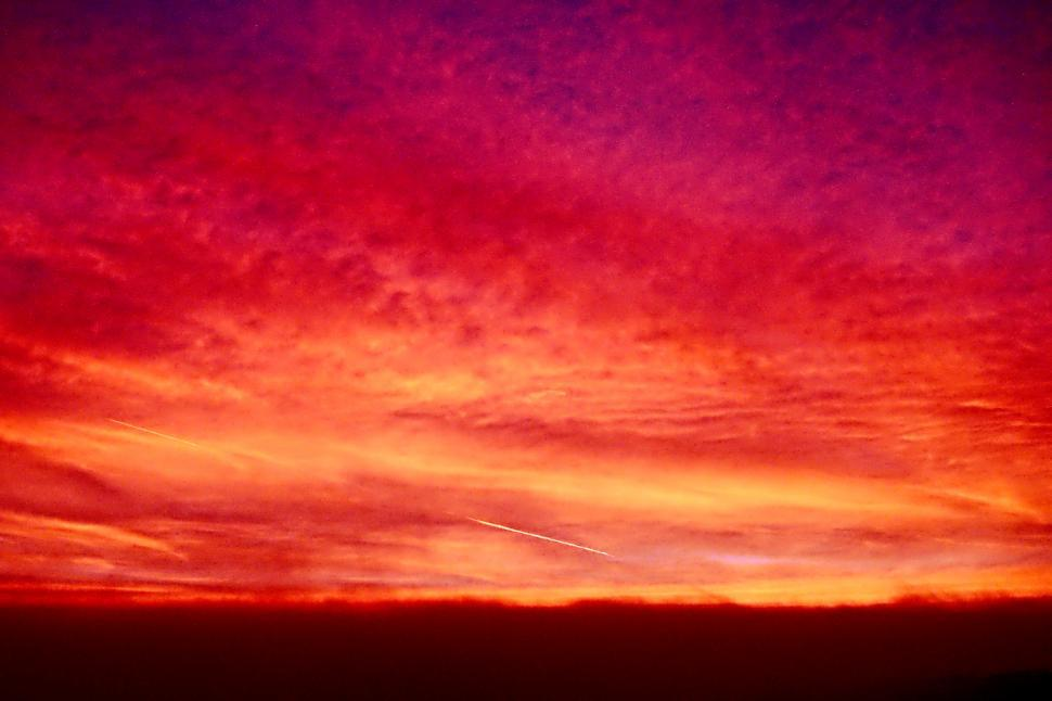 Download Free Stock HD Photo of Fire in the sky Online