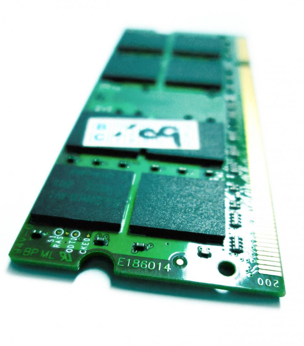 Download Free Stock HD Photo of Closeup RAM memory Online