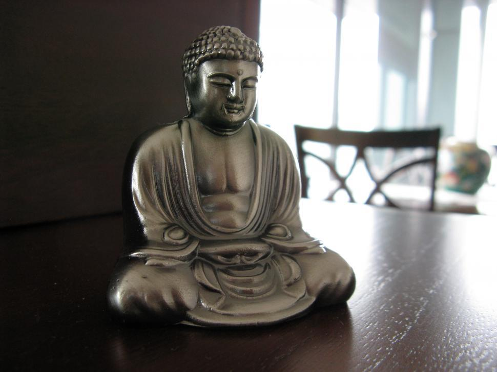 Download Free Stock HD Photo of Buddha Statue in focus Online