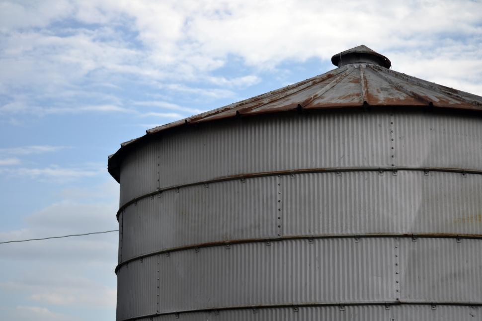 Download Free Stock HD Photo of Grain Bin Online