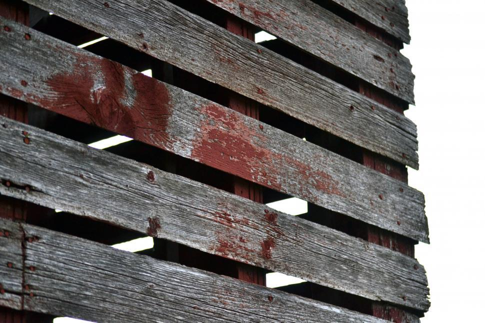Download Free Stock HD Photo of Side of Distressed Shed Online