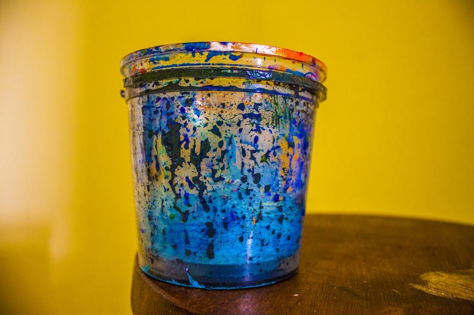 Download Free Stock HD Photo of Paint Cup Online
