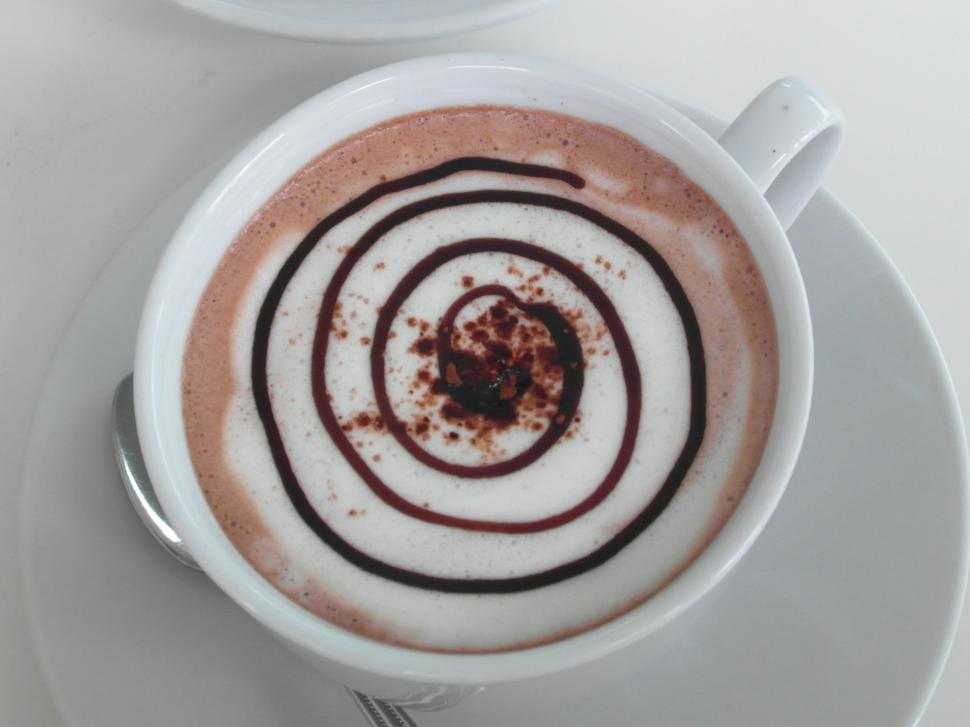 Download Free Stock HD Photo of Coffee Spiral Art Online