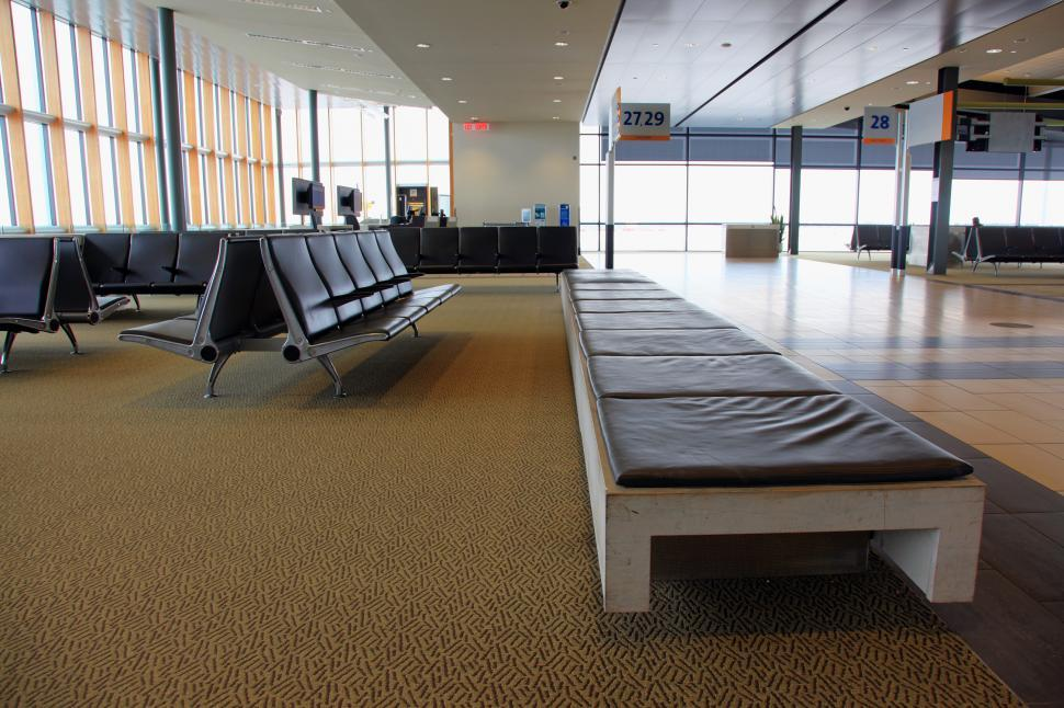 Download Free Stock HD Photo of Seating at terminal Online