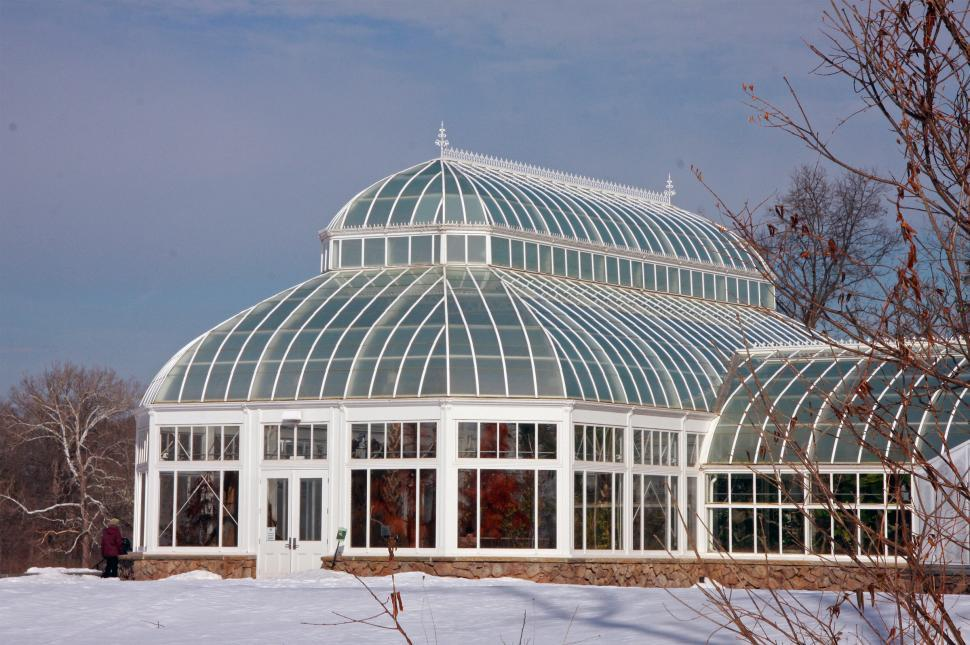 Download Free Stock HD Photo of Greenhouse in Winter Online