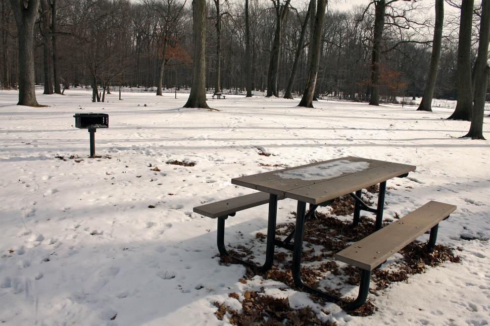Download Free Stock HD Photo of Picnic Table Online