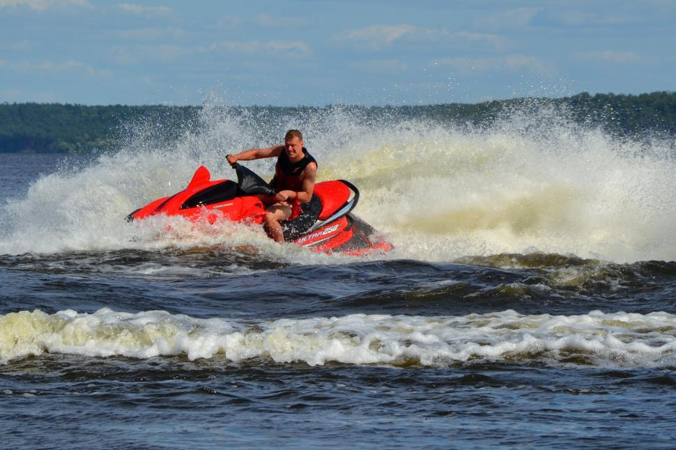 Download Free Stock HD Photo of Jet ski Online