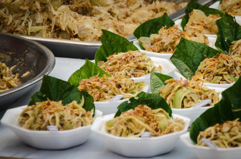 Download Free Stock HD Photo of Mango salad Online