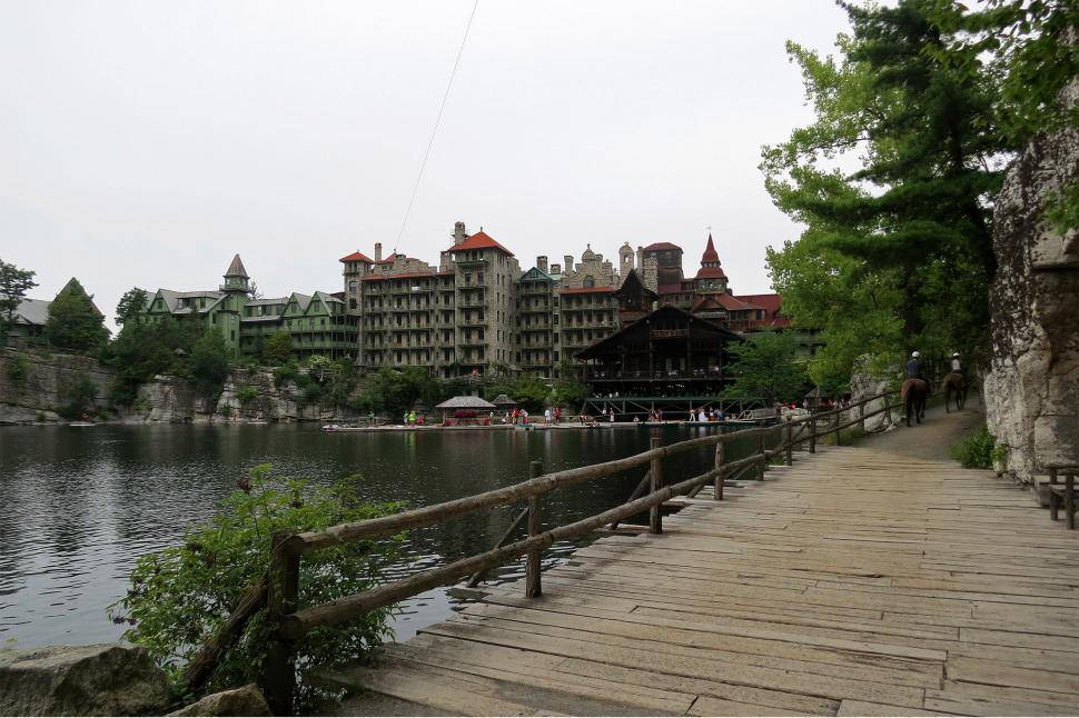 Download Free Stock HD Photo of Mohonk Mountain House Resort  Online