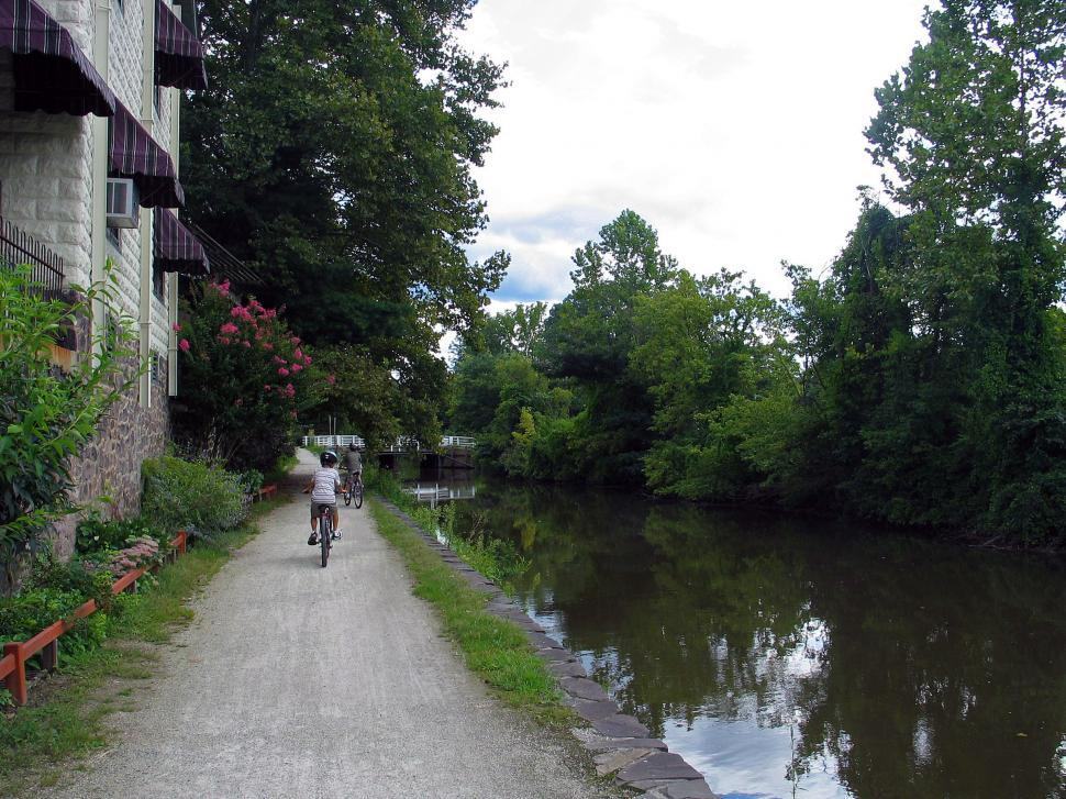 Download Free Stock HD Photo of D&R Canal, Near Lamberville NJ - New Hope PA Online