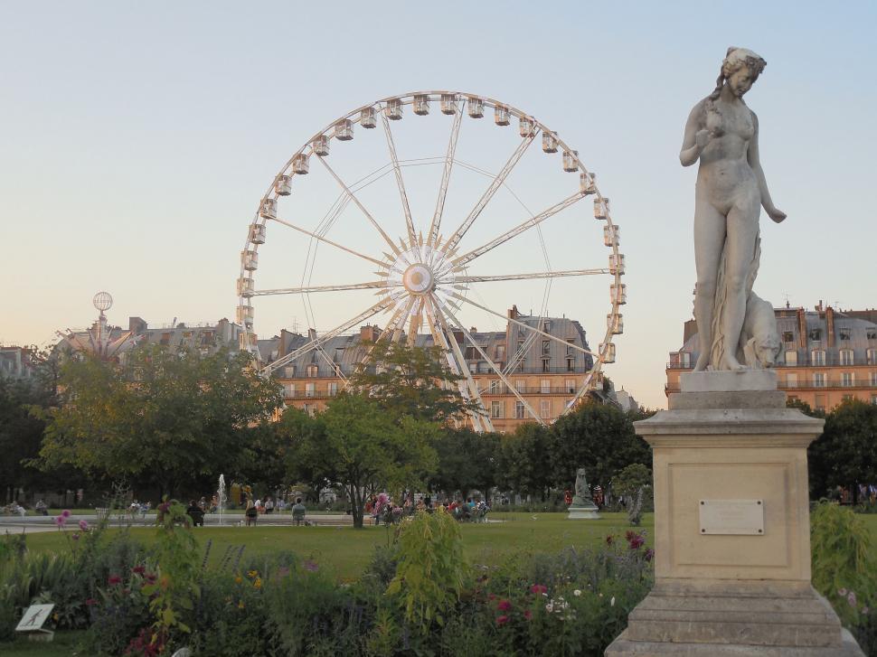 Download Free Stock HD Photo of Tuileries Garden - Paris Online