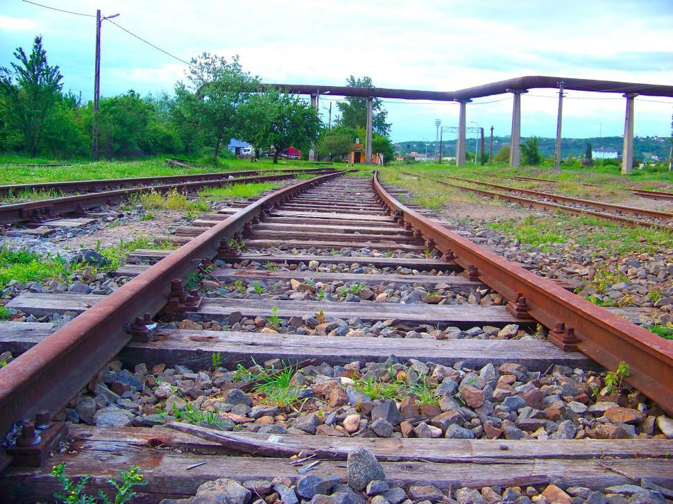 Download Free Stock HD Photo of Railway track Online