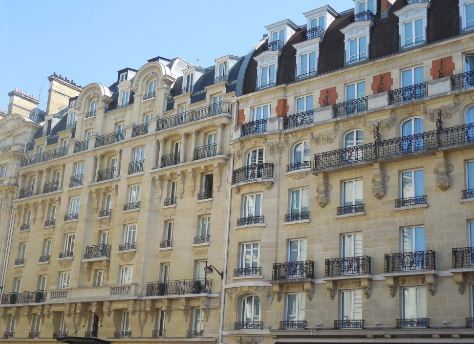 Download Free Stock HD Photo of Parisian Apartments Online