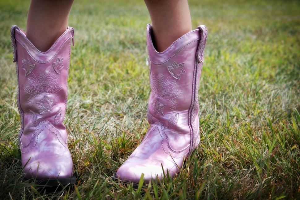 Download Free Stock HD Photo of Pink Boots Online