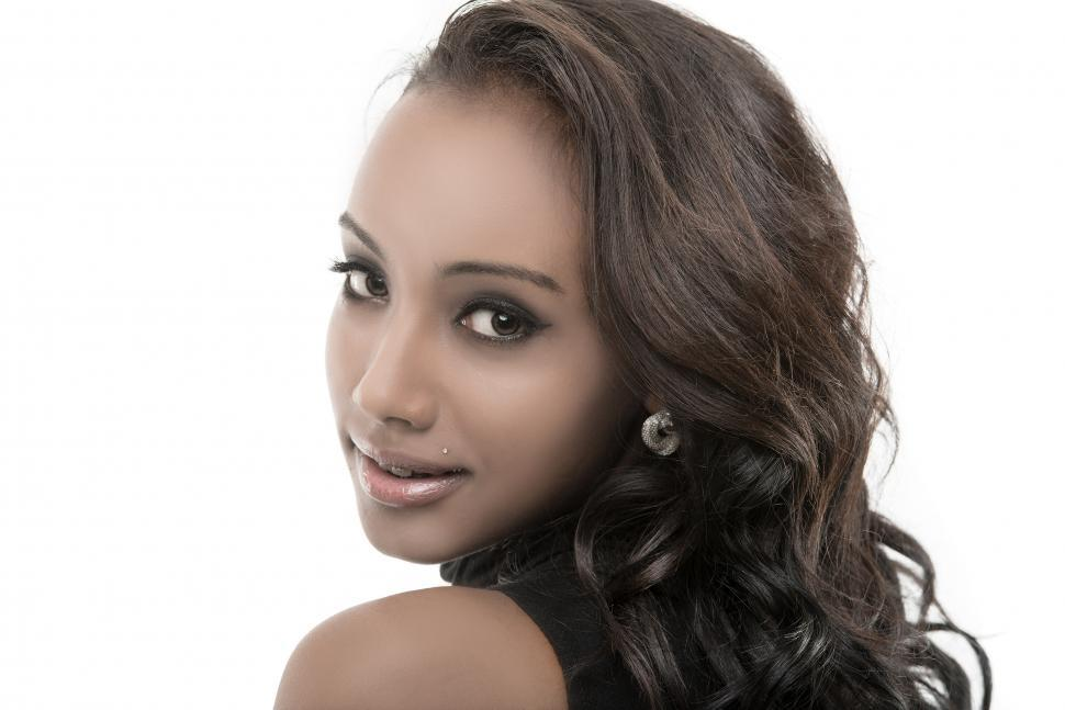 Download Free Stock HD Photo of Young African American model Online