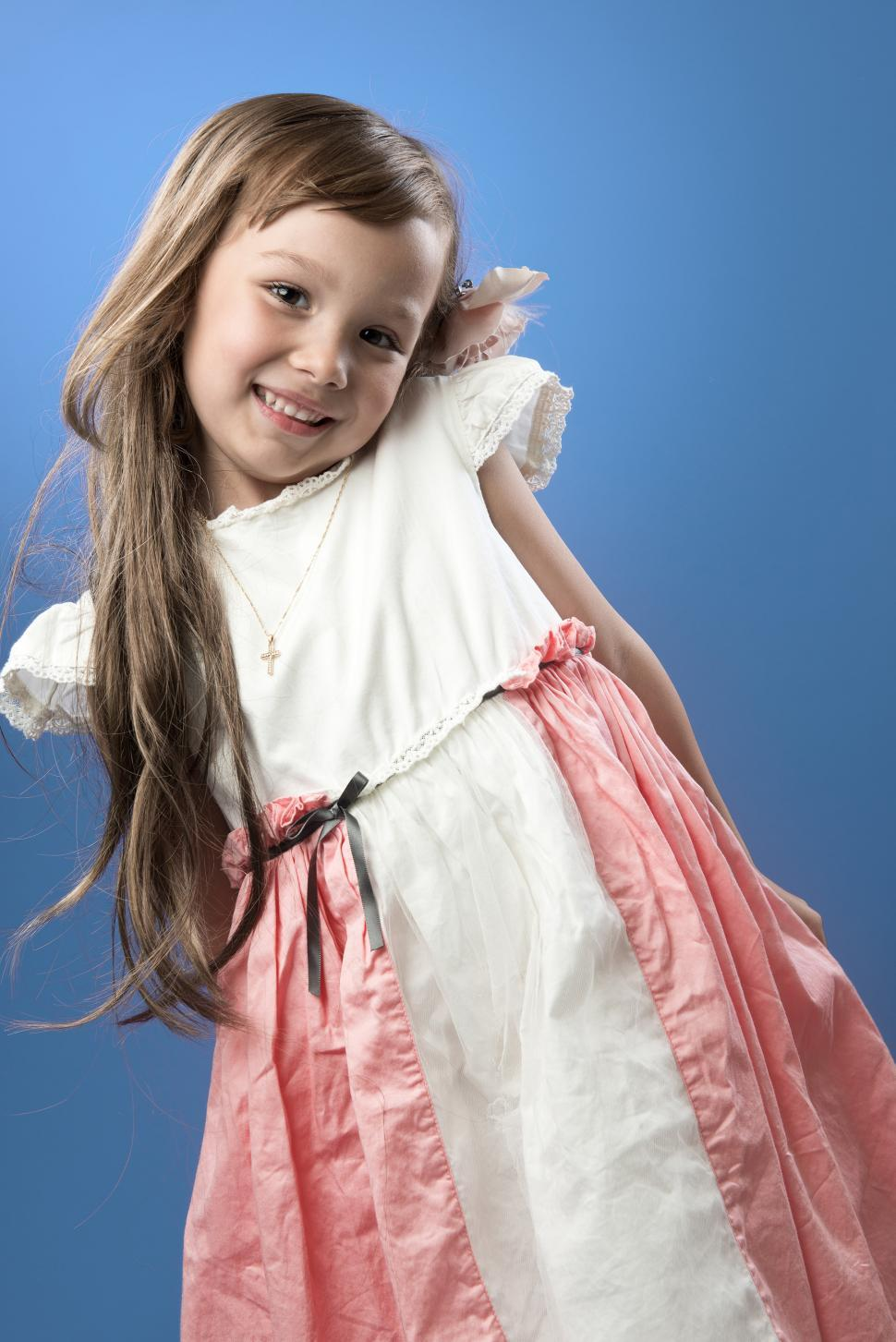 Download Free Stock HD Photo of Young child in dress Online