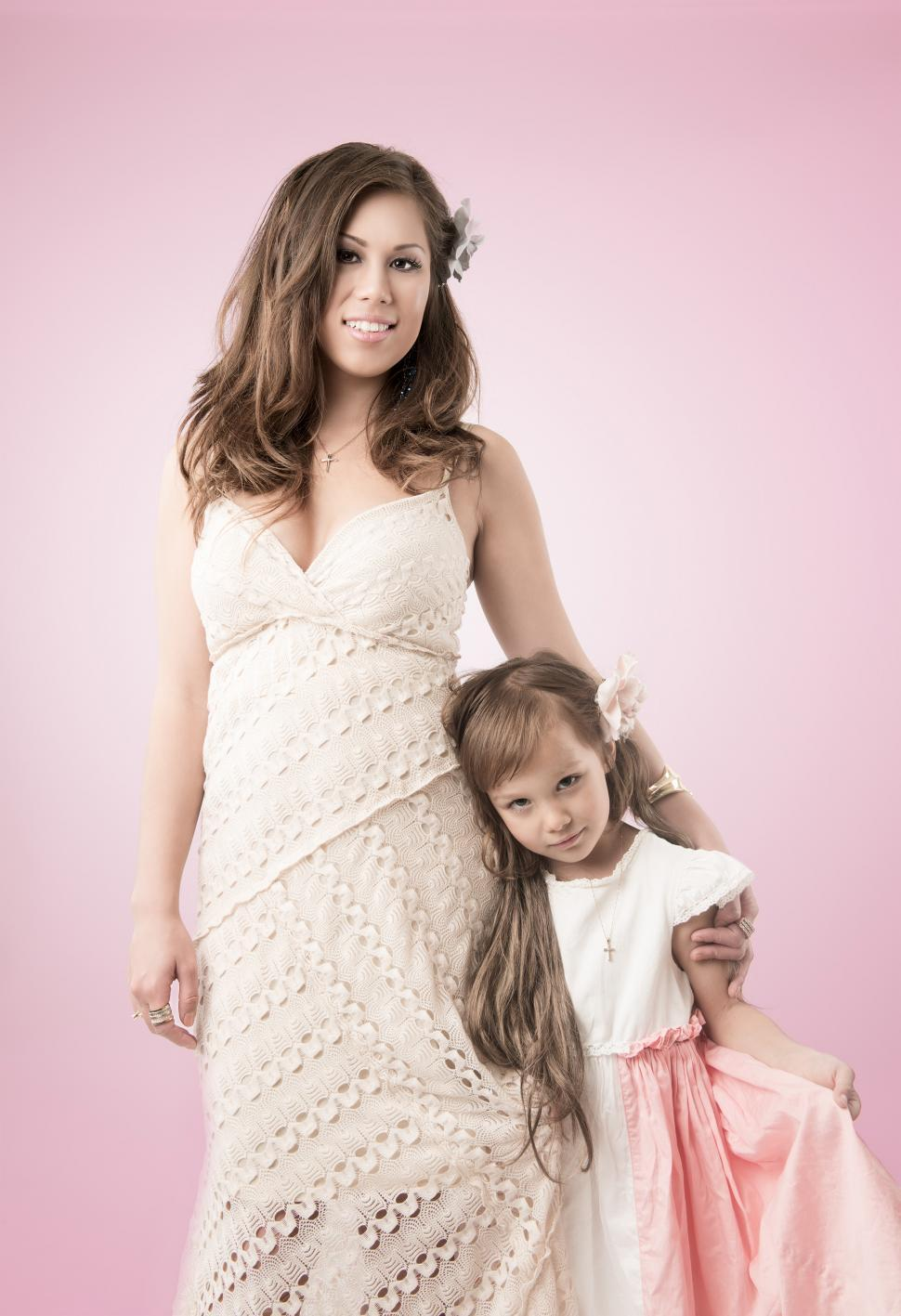 Download Free Stock HD Photo of Mother and Daughter Online