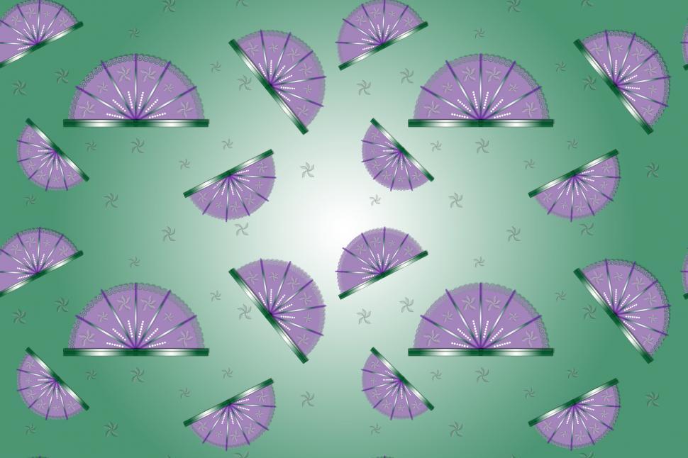 Download Free Stock HD Photo of Fan Flowers Pattern Online