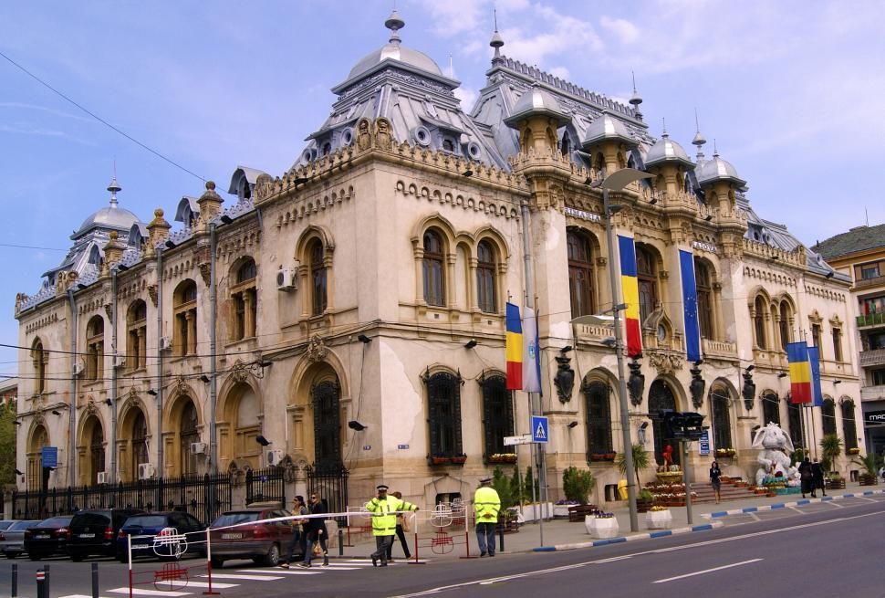 Download Free Stock HD Photo of Craiova Town Hall Online
