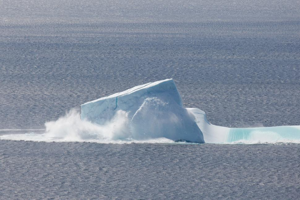Download Free Stock HD Photo of Collapsing Iceberg Online