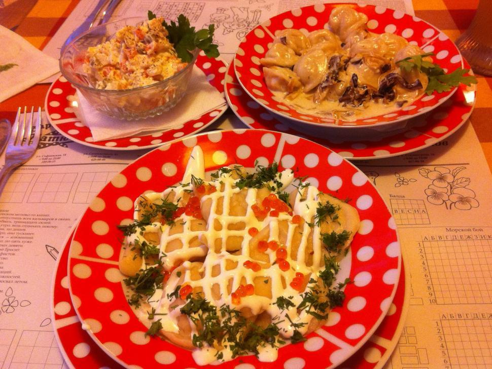 Download Free Stock HD Photo of Ukrainian meal Online