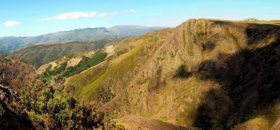 Download Free Stock HD Photo of Mountains in Serra do Caramulo in central Portugal Online