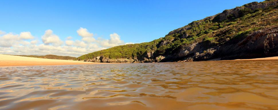 Download Free Stock HD Photo of Small river in the Alentejo and Vicentine Coast Natural Park, so Online