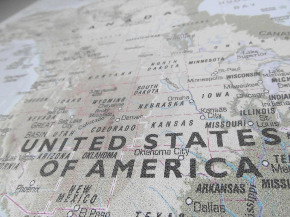Download Free Stock HD Photo of United States of America USA Map Online