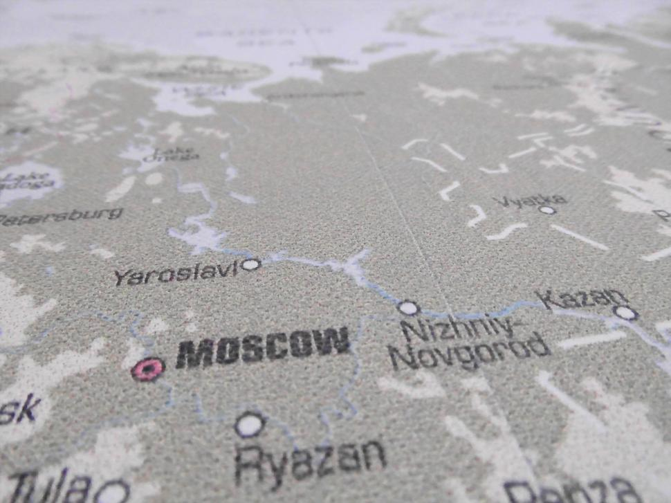Download Free Stock HD Photo of Map of Russia Online