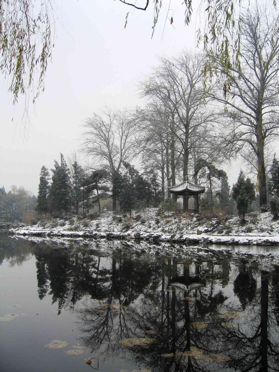Download Free Stock HD Photo of Winter lake Online
