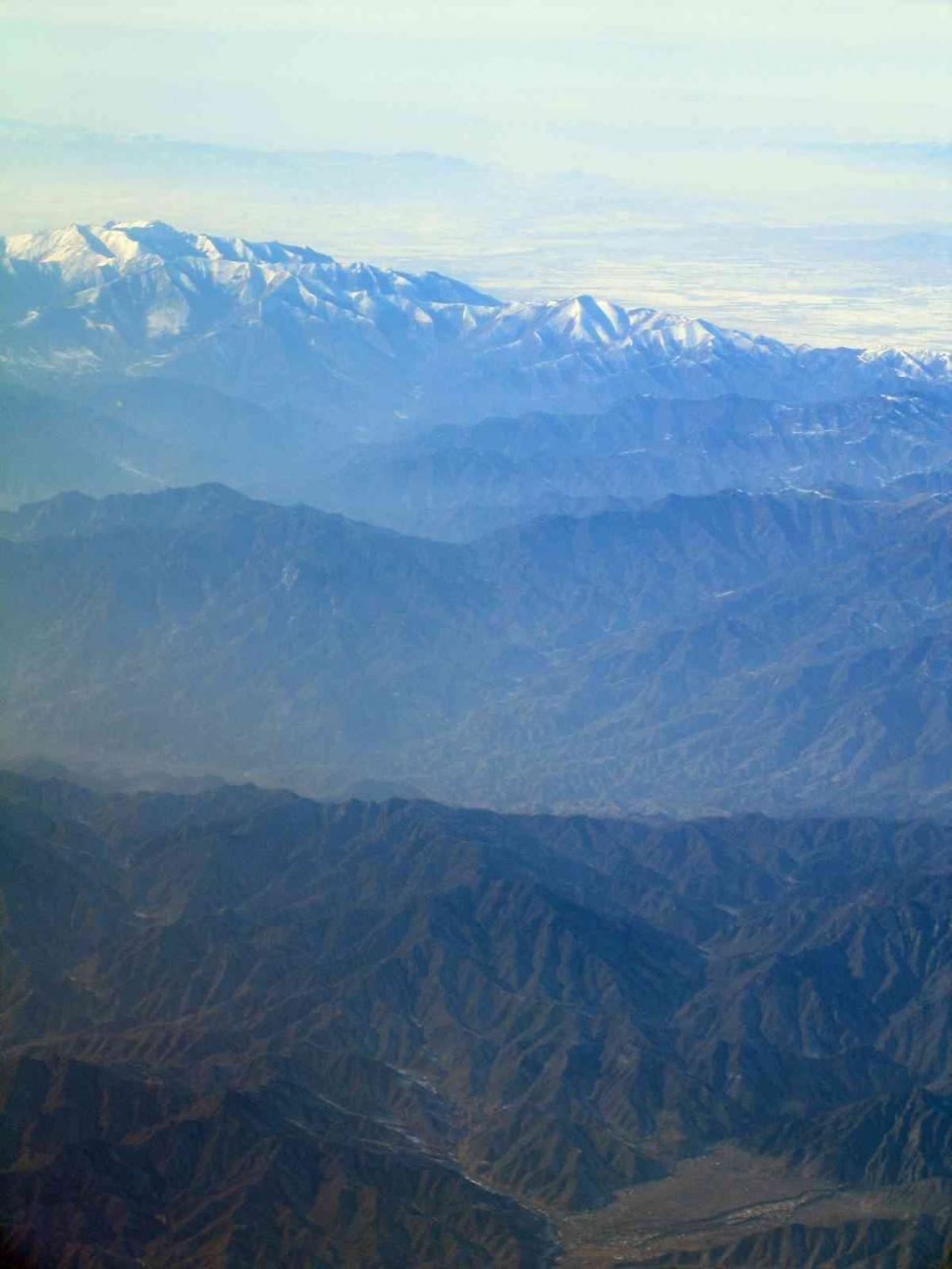 Download Free Stock HD Photo of Aerial view of mountains Online