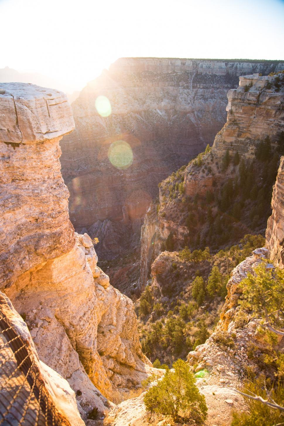Download Free Stock HD Photo of Mather Point at Sunrise Online