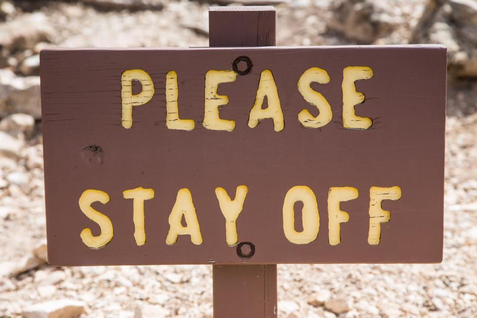 Download Free Stock HD Photo of Stay off Online