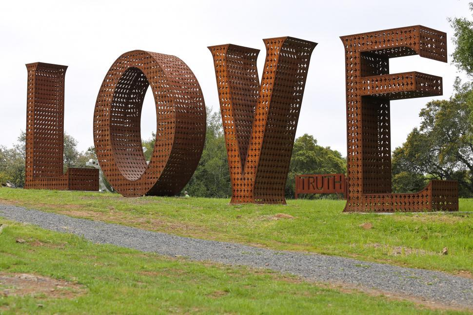 Download Free Stock HD Photo of Love Sculpture Online