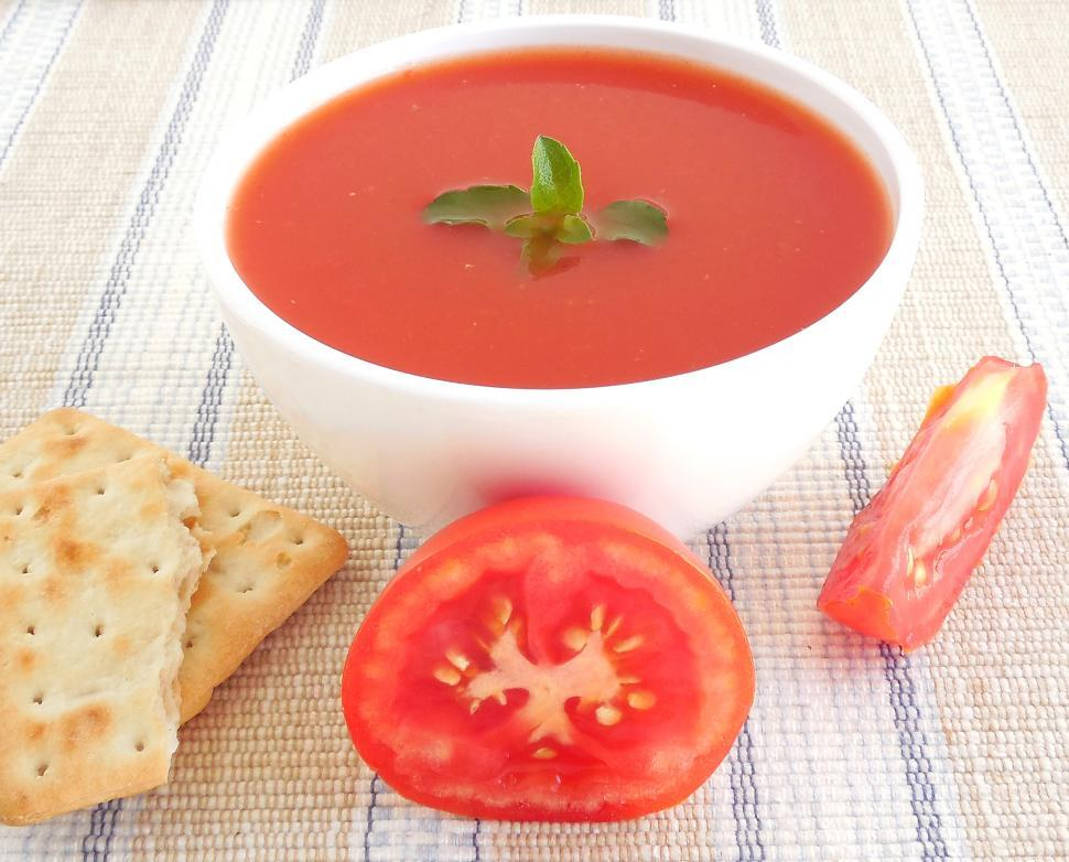 Download Free Stock HD Photo of Tomato Soup Online