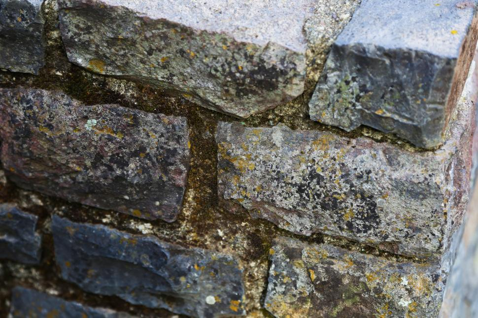 Download Free Stock HD Photo of Aged Stone Wall corner Online