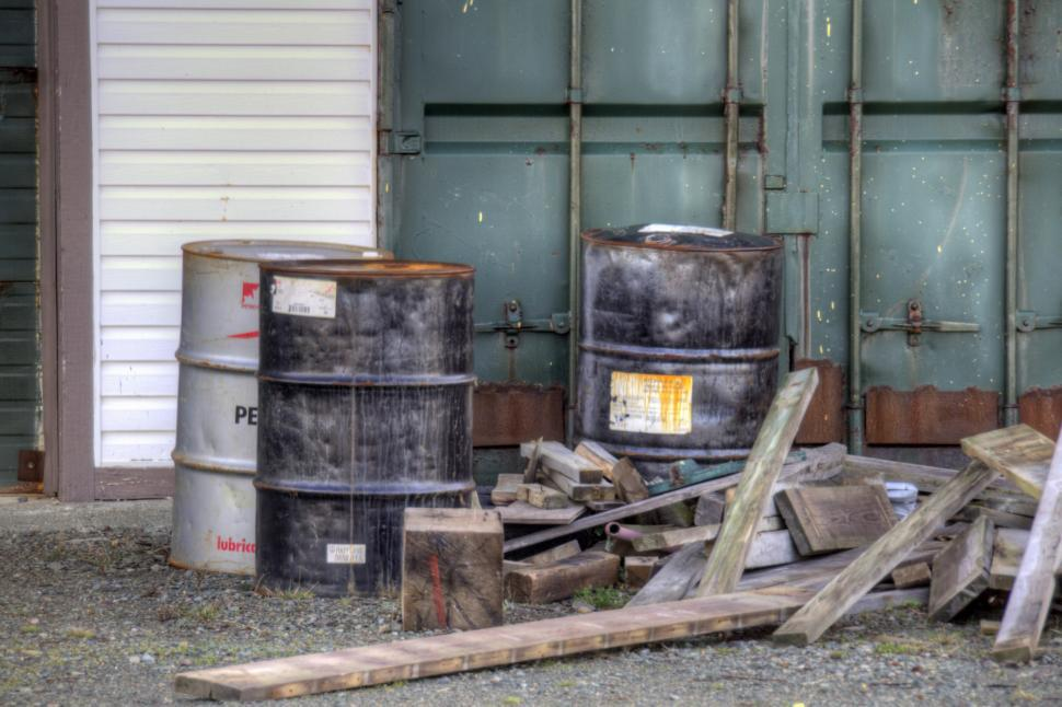 Download Free Stock HD Photo of Oil Drums Online