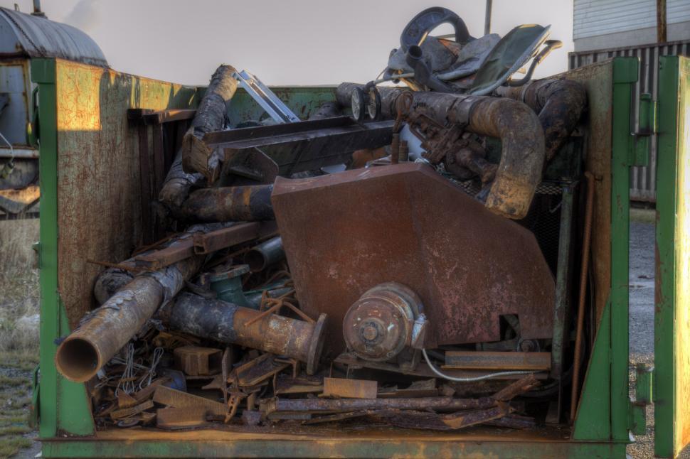 Download Free Stock HD Photo of Scrap Metal Online
