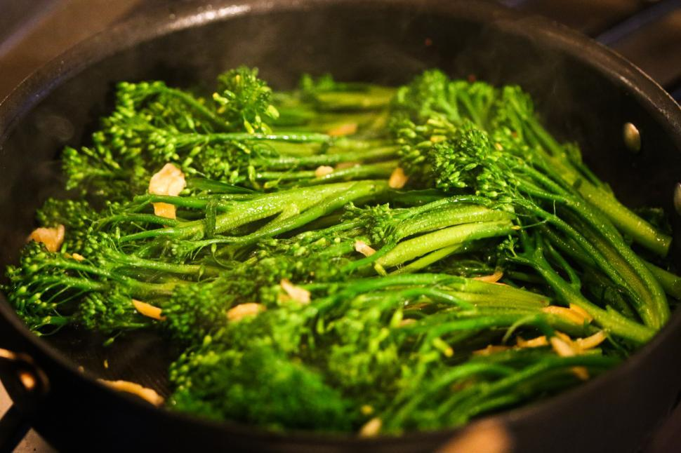 Download Free Stock HD Photo of broccoli rabe Online