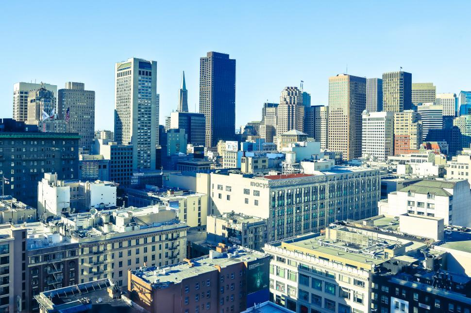 Download Free Stock HD Photo of San Franciso city view Online