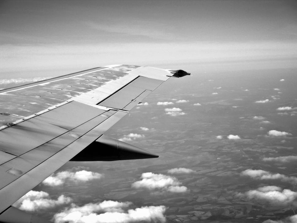 Download Free Stock HD Photo of Aircraft wing Online