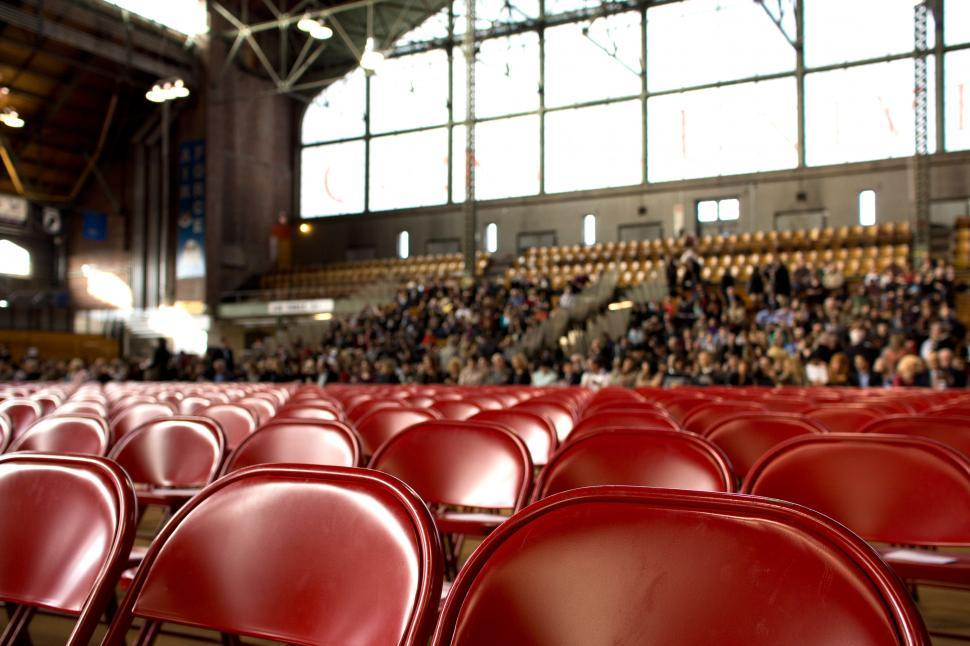 Download Free Stock HD Photo of Inside view of an Auditorium Online